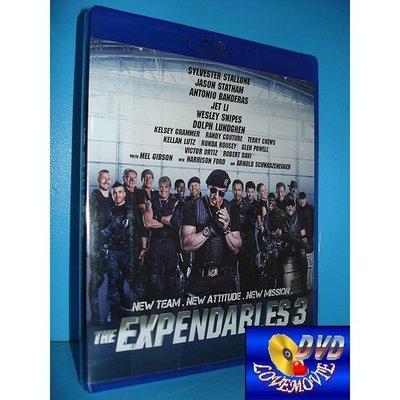 A區Blu-ray藍光台灣正版【浴血任務3 The Expendables 3 (2014)】DTS-HD版全新未拆