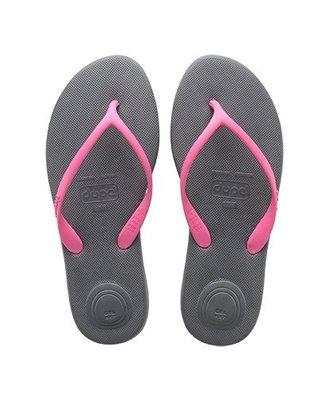 女拖鞋 dupe' Fun 系列巴西橡膠人字拖/夾腳拖鞋