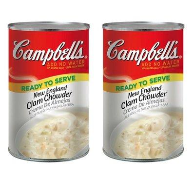 【COSTCO好市多商品代購】Campbell's 金寶 新英倫蛤蜊濃湯 1.41公斤 X 2入/組