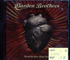 *真音樂* BURDEN BROTHERS / BURIED IN YOUR BLAC 二手 K30978 (封面底破)