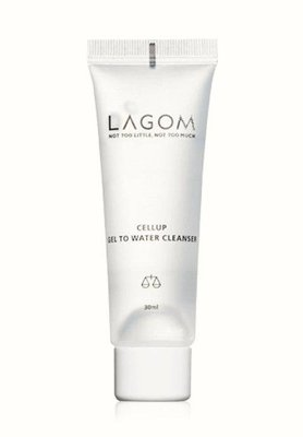 LAGOM CELLUP GEL TO WATER CLEANSER 晨間溫和潔面凝露迷你裝小容量30ml 預購中