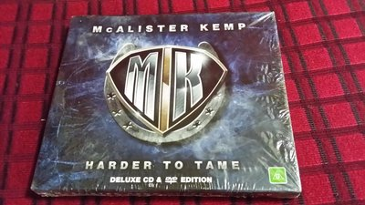 R西洋團(全新未拆CD)MCALISTER KEMP~HARDER TO TAME~CD+DVD