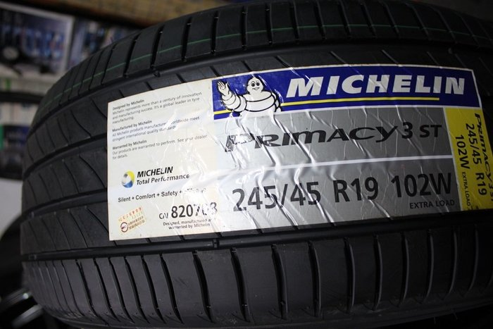 米其林 MICHELIN PRIMACY 3ST 245/45/19  優質靜音舒適胎