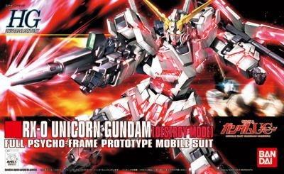 玩具寶箱 - BANDAI  1/144 獨角獸 破壞模式 Unicorn RX-0  Destroy Mode