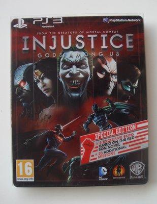 PS3 超級英雄:武力對決 鐵盒版 英文版 Injustice: Gods Among Us
