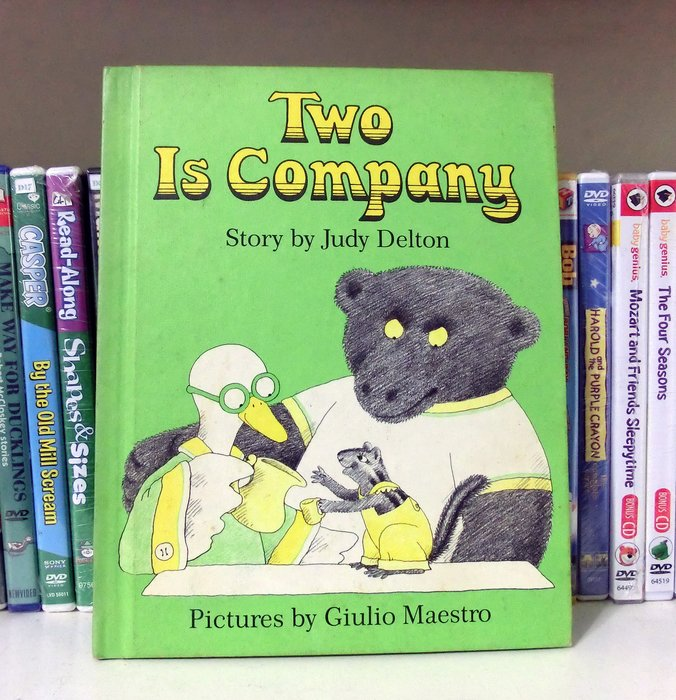 *【兒童英語讀本】*小pen~~Two Is Company