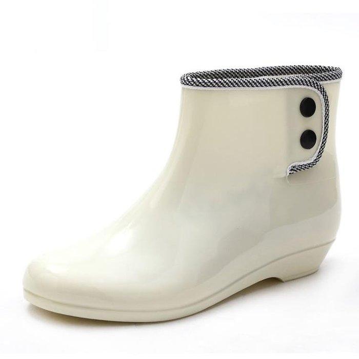優惠特價中 雨鞋短筒韓版時尚雨靴女士防滑套鞋成人水靴防水鞋女外穿加絨膠鞋