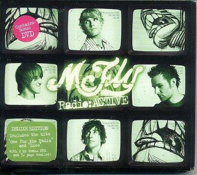 正版全新CD+DVD~小飛俠最新專輯McFly Radio - ACTIVE~進口盤Digipak版~現貨下標就賣