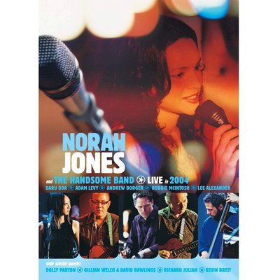 【紅豆百貨】Norah Jones and The Handsome Band Live in 2004 DVD9 精美盒裝