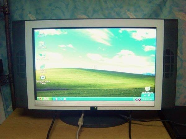 Y保固3個月【小劉二手家電】 23吋電腦液晶螢幕,有AV端子可接DVD,監視器,不能接第4台