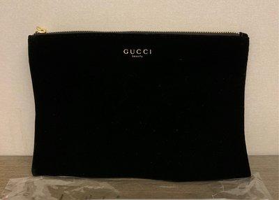 全新Gucci beauty化妝包/收納包-黑