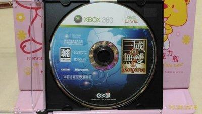 正版 XBOX360 真三國無雙5 帝王傳 中日合版 日文語音 裸片