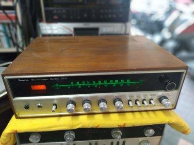 日本山水 SANSUI 350A 木箱 收音擴大機 品項很漂亮 功能正常 收訊強