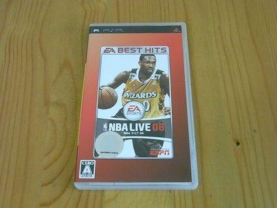 【小蕙館】PSP~ NBA LIVE 08 (純日BEST版)