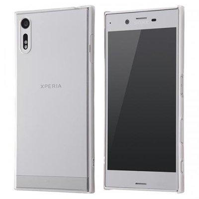 尼德斯Nydus~* 日本正版 Sony Xperia XZ 手機殼 透明 硬殼 清水套 背面硬度強化 3H