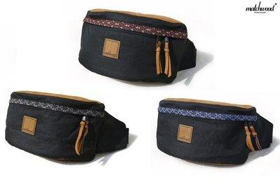 { POISON } MATCHWOOD HANDY BAG TOTEM 民族風織帶 麂皮拼接 肩背式腰包