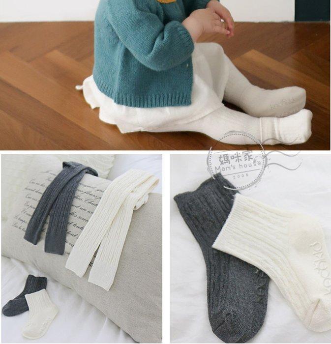 媽咪家【DD043】DD43九分褲小襪組 寶寶 小童 針織 止滑 防滑 九分襪 襪套 短襪 兩件組 保暖褲~S號.M號