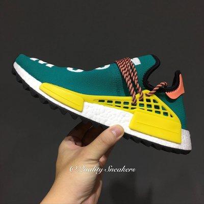 現貨 - Pharrell x Adidas NMD Trail Human Race 綠黃 AC7188