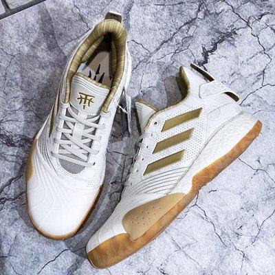 【免運現貨】adidas T-MAC Millennium BOOST低筒籃球鞋 耐磨防滑運動鞋 白金色男鞋G27750