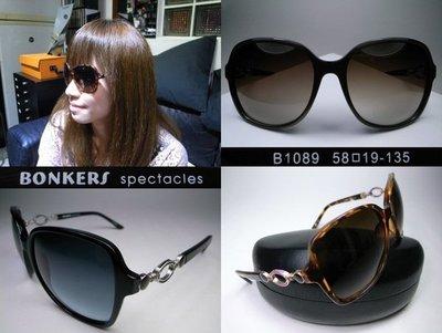 信義計劃 眼鏡 Bonkers B1089 太陽眼鏡 日本製大框膠框 鏤空金屬 超越費洛加蒙OP sunglasses