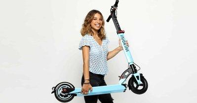 『電池急救站』 以色列 inokim 電動滑板車 台灣經銷商 inokim Light2 / 天藍色 / 歡迎試乘