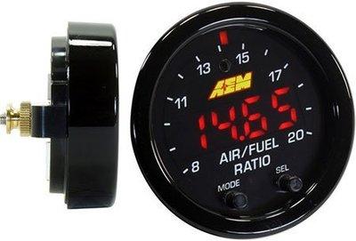 =1號倉庫= AEM 最新款 X-Series 數位 廣域 AFR 空燃比錶 LSU 4.9 感知器 30-0300