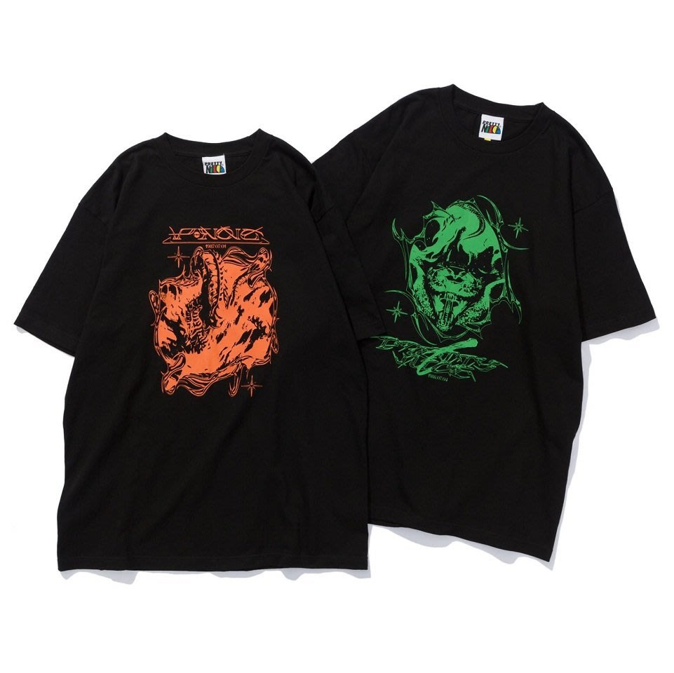 { POISON } PRETTYNICE SHOOTEM UP 1986 TEE 1987 TEE 經典街機射擊遊戲