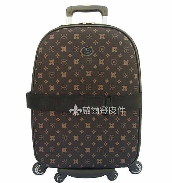 《葳爾登》29吋旅行箱【八輪可爬樓梯】行李箱凱帝爾硬面360度防水防割登機箱29吋0521咖