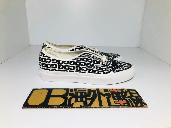 【OB海外連線】CDG x VANS Authentic 川久保玲 滿版 LOGO 聯名款 日本限定 滑板鞋 男女