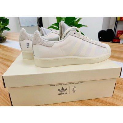 全新正品  Eason x adidas originals Superstar 陳奕迅 白色 慢跑鞋 FX8116