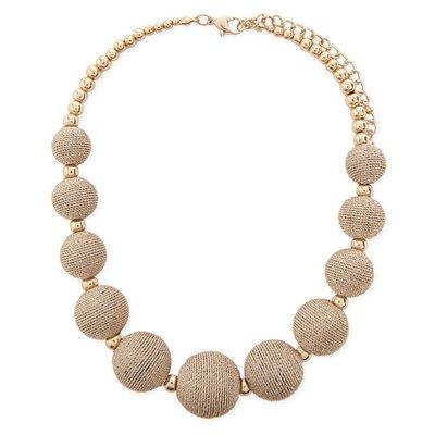 正品 FOREVER 21 beaded statement necklace