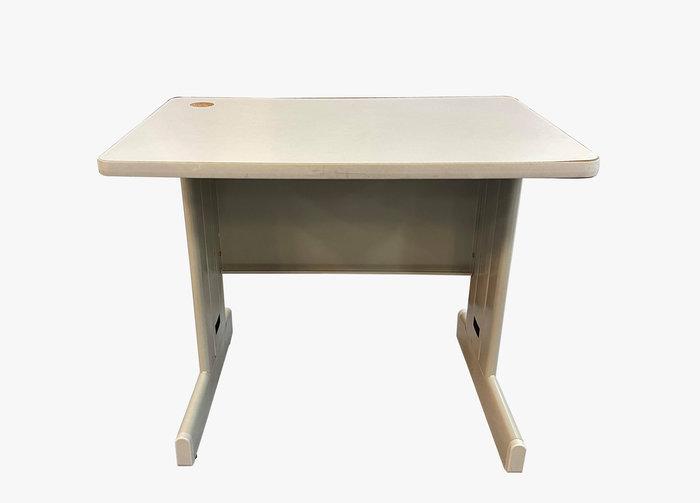 【宏品二手家具館】台中大里2手傢俱家電拍賣 C122103*白面OA辦公桌*辦公椅 辦公設備 辦公桌 各式辦公鐵櫃找宏品