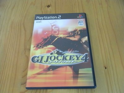 【小蕙館】PS2~  GI JOCKEY4 GI騎士4 / 騎師之道4 (純日版)
