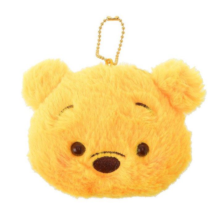 《FOS》日本 Disney 迪士尼 可愛 維尼 零錢包 鑰匙包 口紅 小物 鑰匙圈 吊飾 小包 禮物 2019新款