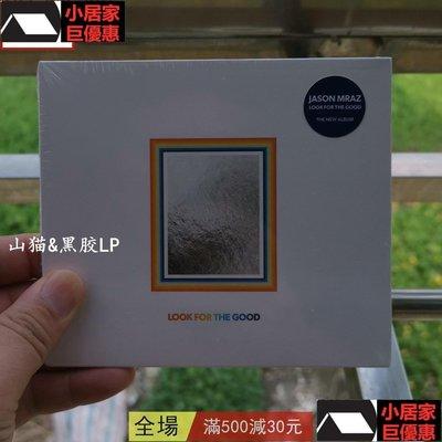 特價優惠現貨US  Jason Mraz Look For The Good 2020新專輯 享受森林陽光 唱片 cd LP小居家生活-巨優惠