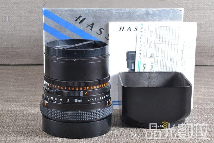 【品光攝影】哈蘇 HASSELBLAD Carl Zeiss T* CF 60mm F3.5 手動 #53754