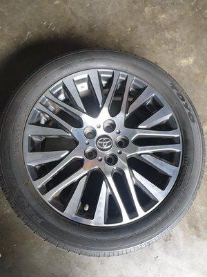 Alphard原廠鋁圈+輪胎一組4個(加裝馳加胎壓偵測器) 桃園市