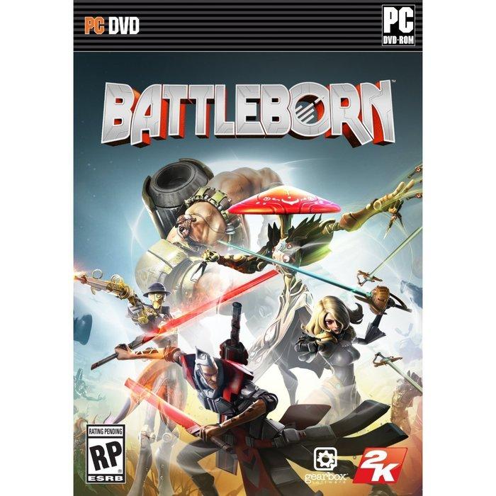 【傳說企業社】PCGAME-Battleborn 為戰而生(中英文版)
