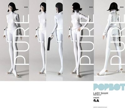 3A ThreeA Ashley Wood Lady Sham Pure Edition