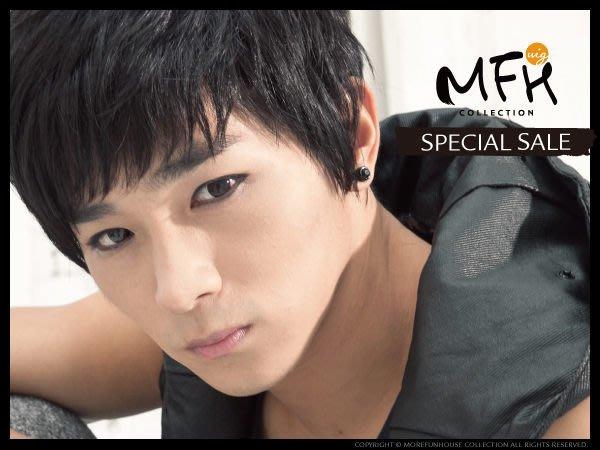 MFH韓國男生假髮~ 多層次搖滾黑髮【S037002】自然黑 韓國髮型 男假髮 男生髮型 ROCK 視覺感