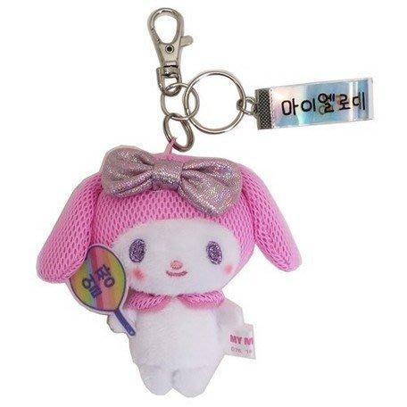 41+現貨免運費 鑰匙圈 美樂蒂 日本授權 韓版 絨毛玩偶 吊飾 鑰匙圈 小日尼三