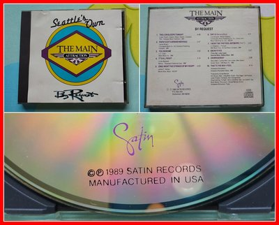 ◎1989年-美國版-老牌美聲團體-The Main Attraction-By Request-10首◎CD-80年代
