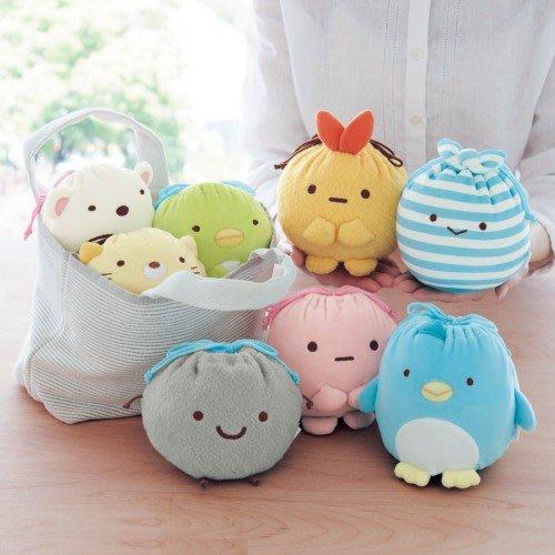日本 最新款 可愛角落生物小型束口袋