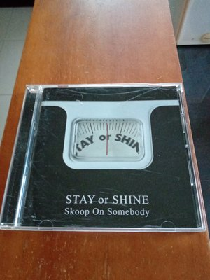 日本R&B天團 Skoop On Somebody -Stay or Shine 專輯CD (日本版) 只拆封 含側標