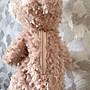 《Disney》Shellie May 雪莉玫 絨毛吊飾拉鍊零錢包 側坐娃娃 日本限定