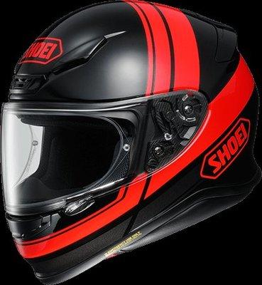 《鼎鴻》 SHOEI全罩式彩繪安全帽 Z-7 PHILOSOPHER TC-1 紅黑