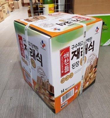 匯盈一館~韓國思潮SAJO味噌醬14Kg~韓式大醬湯醬~韓國豆腐湯~餐廳批發請電聯