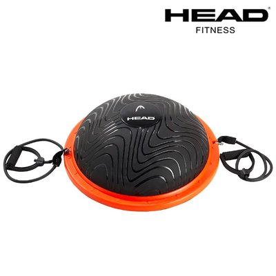 HEAD 防爆半圓平衡球 附彈力繩 打氣筒 環保PVC 加厚防爆 耐荷重 半圓球 波速球 Bosuball 瑜伽平衡