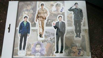 現貨,韓國最新!!太陽的後裔 宋仲基 個人 立牌,每組4個入,韓國帶回,售完為止