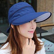 遮陽帽 防曬帽 可拆絕對防曬 大沿帽遮陽帽 可折疊 戶外騎車遮陽帽 女夏天防曬帽遮臉太陽帽 718